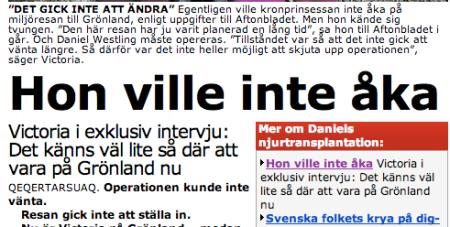 Aftonbladet 30/5 2009
